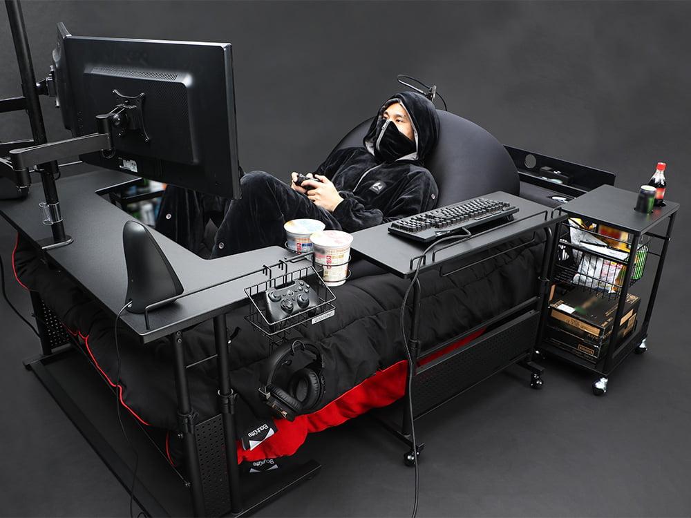 Gamingowe łóżko