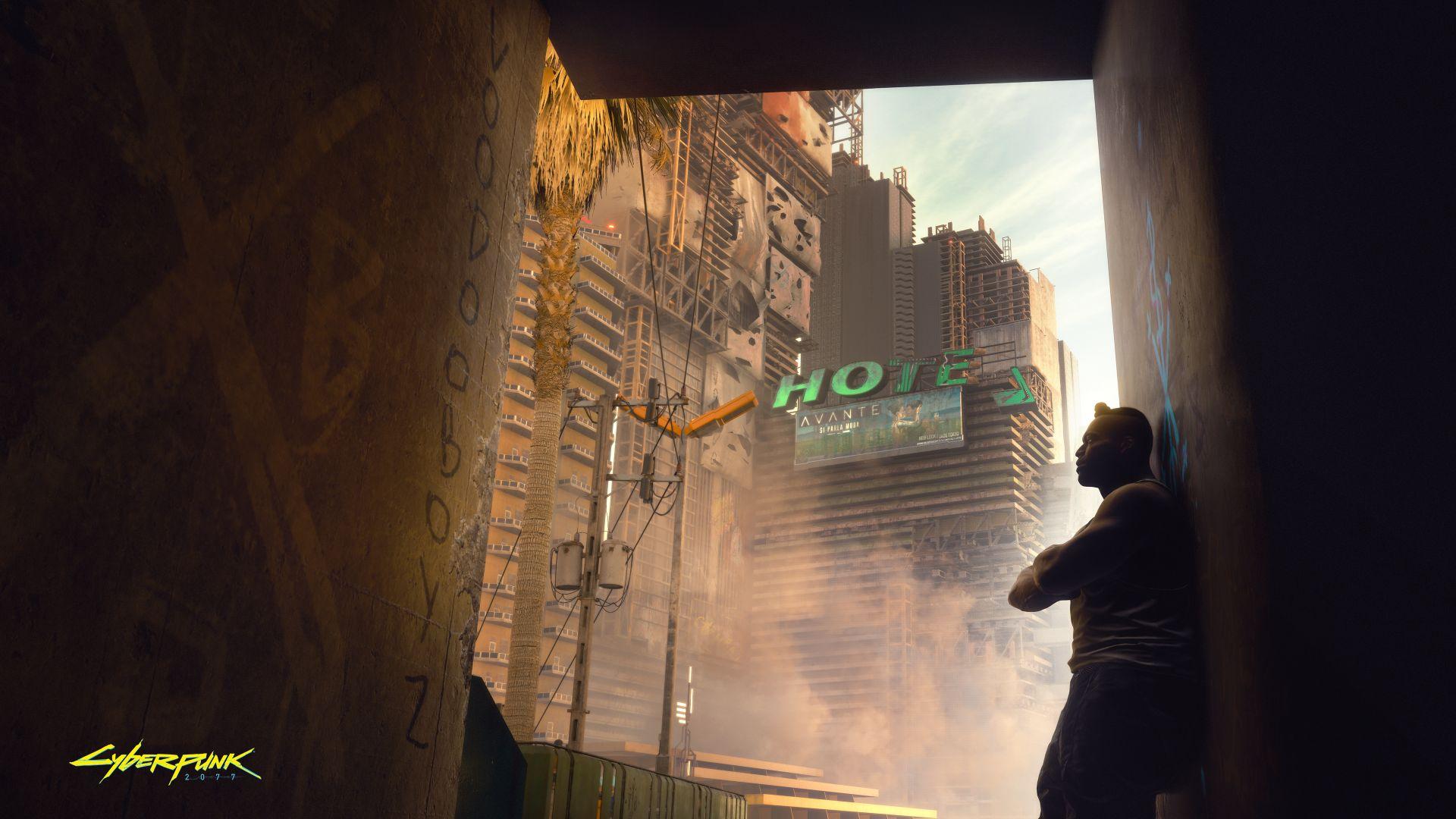 cyberpunk 2077 hotel