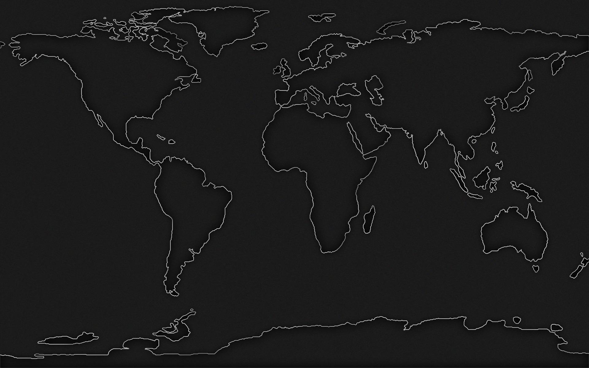 mapa czarna