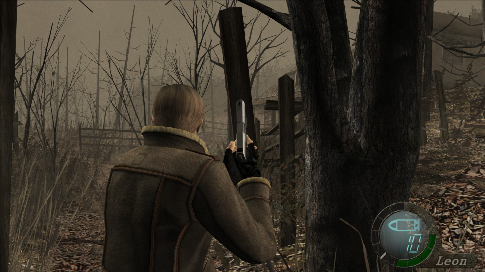 Resident Evil 4/ screen z gry
