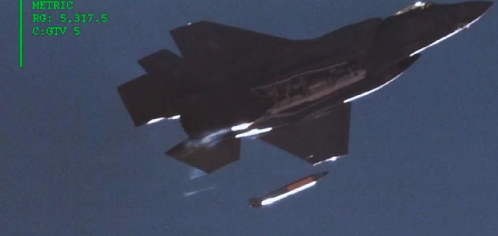 Bomba atomowa zrzucona przez myśliwiec F-35