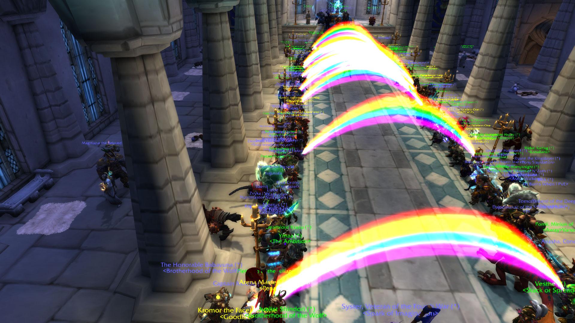 World of Warcraft uroczystość żałobna