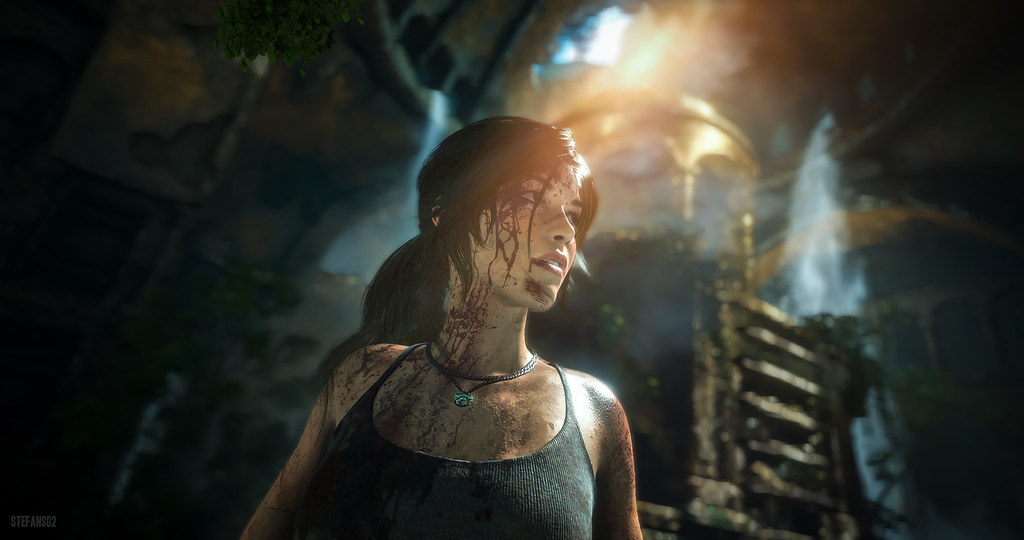 Screen z gry Raise of the Tomb Raider.