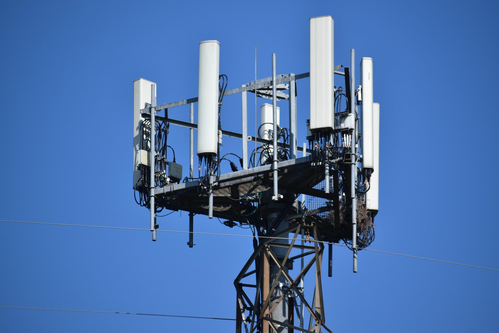 Maszt sieci 5G