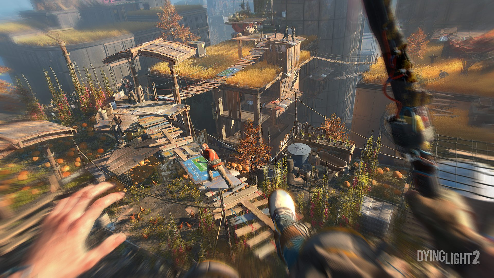 Dying Light 2/ screen z gry