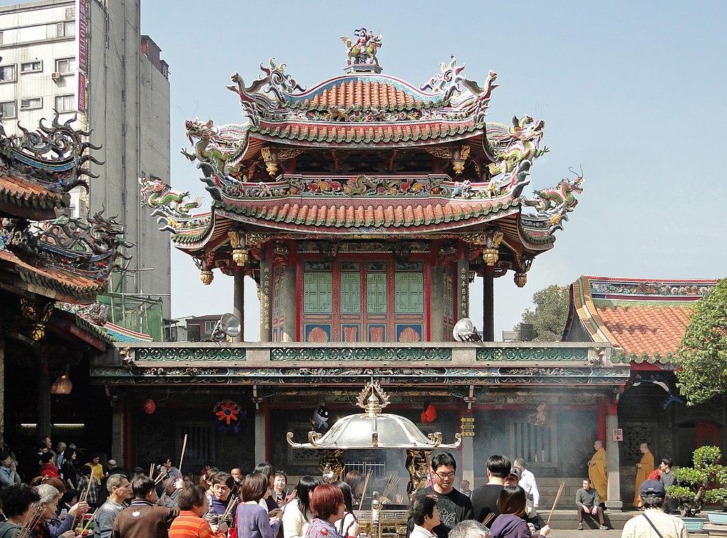 Świątynie Longshan w Chinach