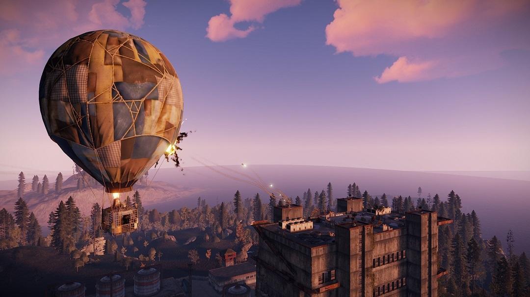 Rust balon