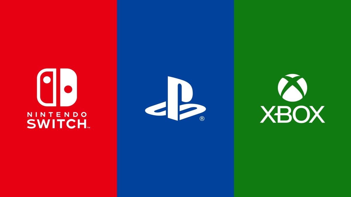 Sony, Nintendo, Microsoft
