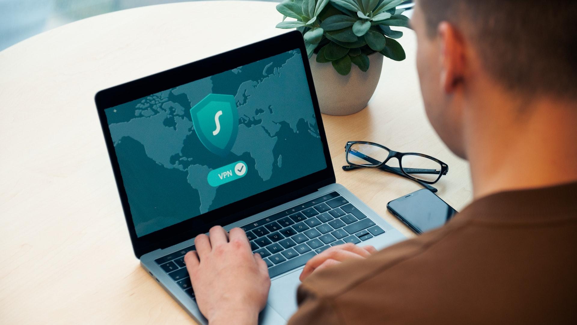 VPN w laptopie