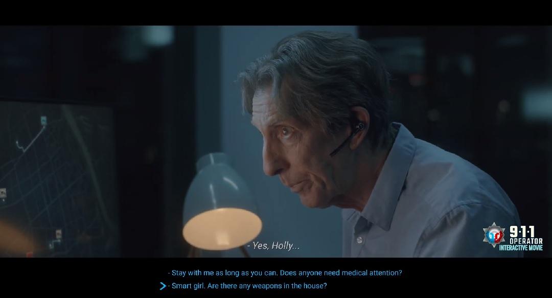 911 Operator Interactive Movie Trailer