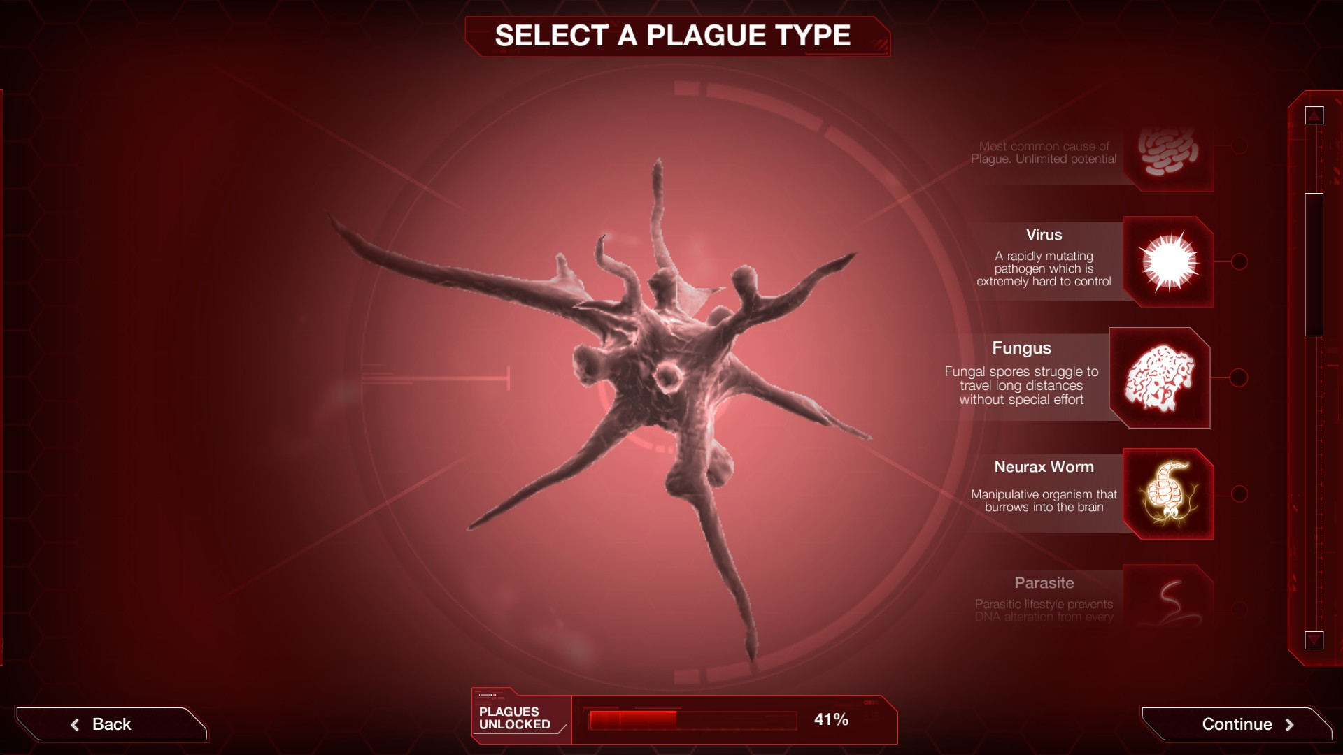 plague inc wirusy