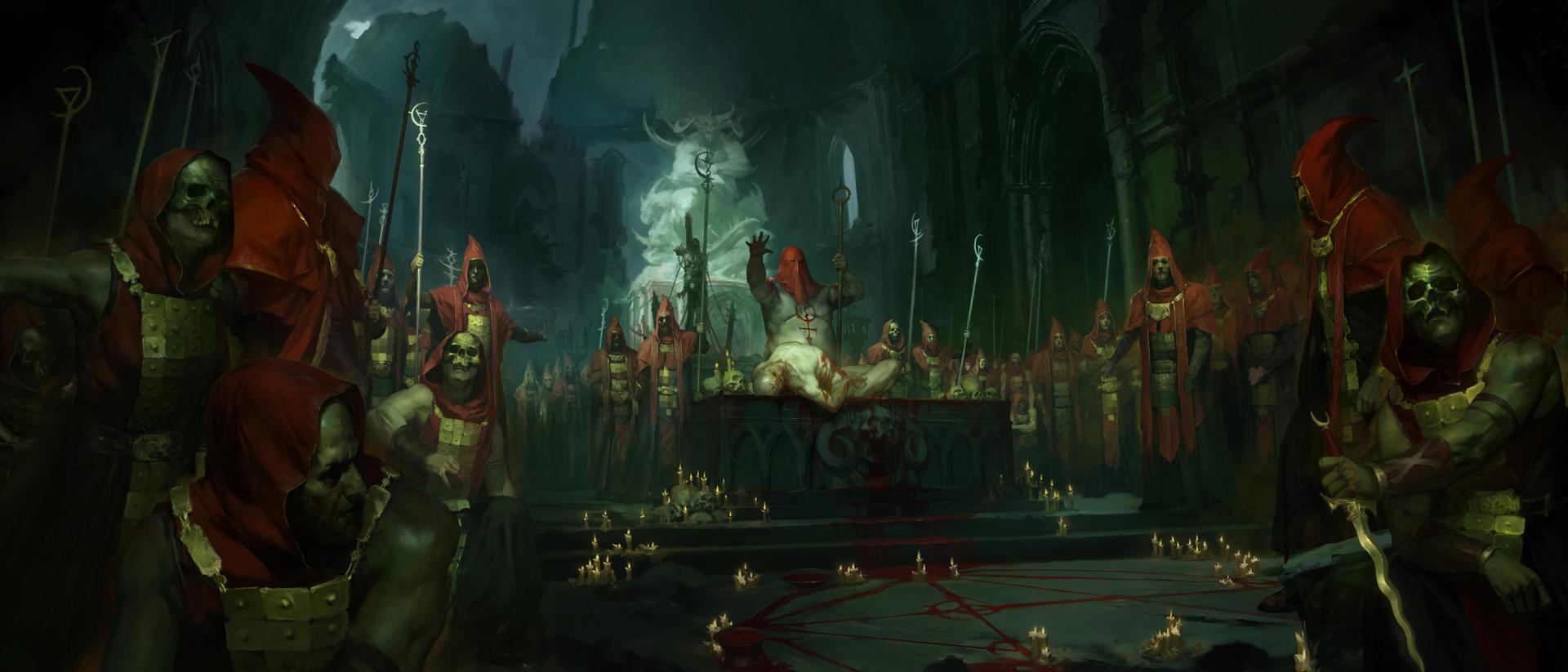 Diablo IV sekta artwork
