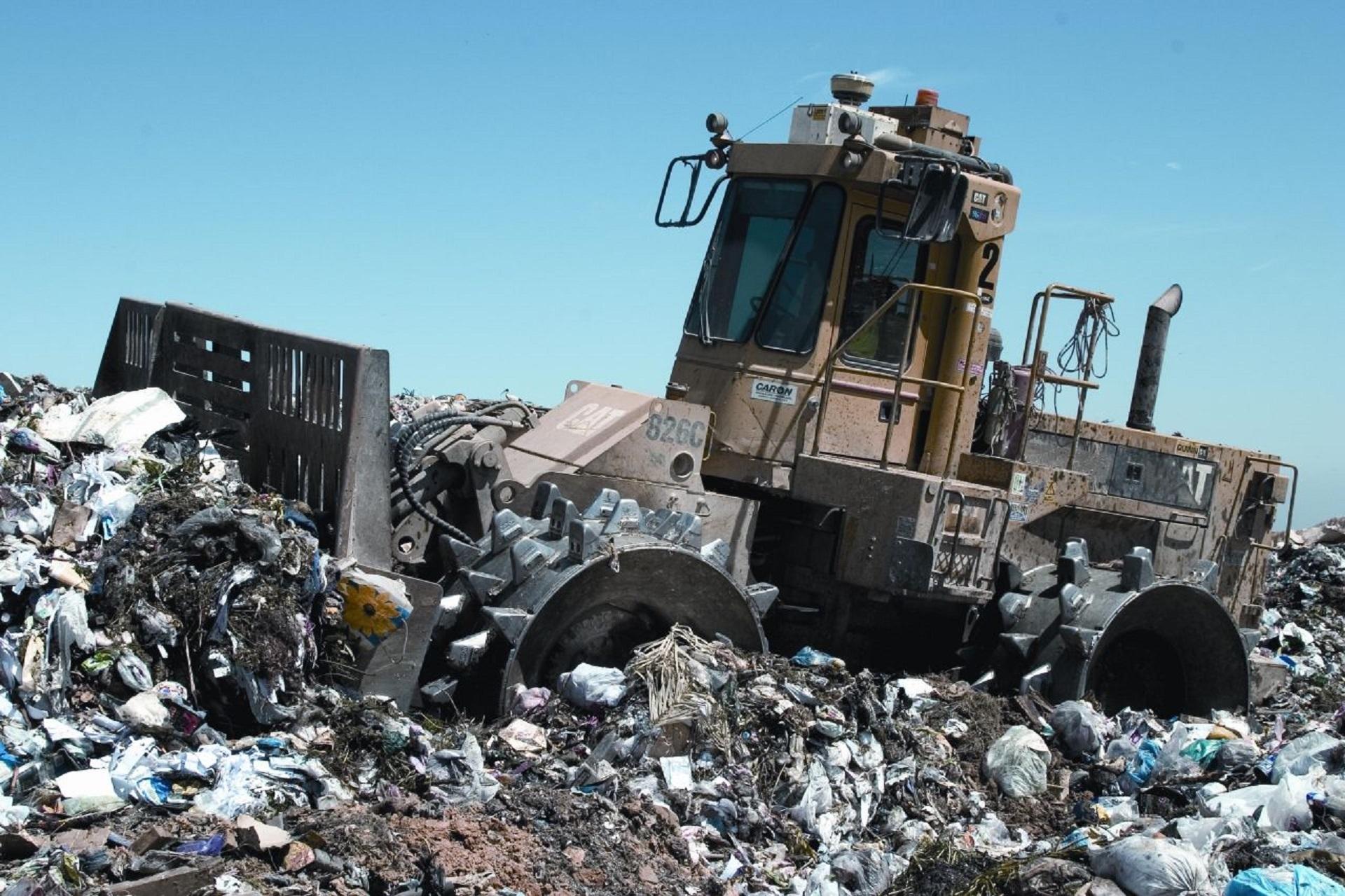 Wysypisko śmieci z Bitcoinami