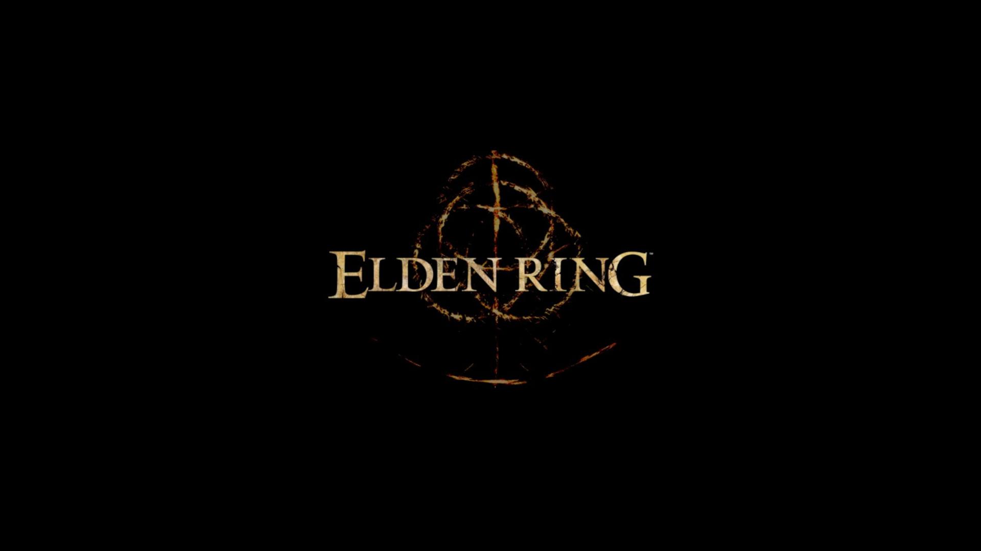 Elden Ring logo gry
