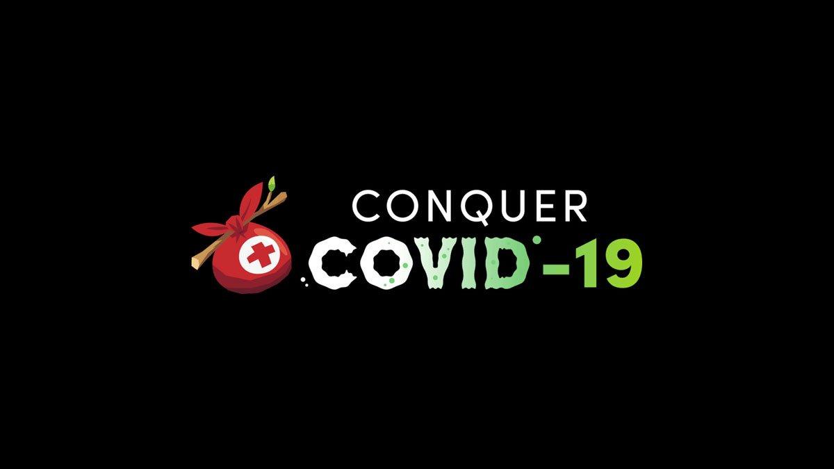 Logo Humble Conquer COVID-19 Bundle