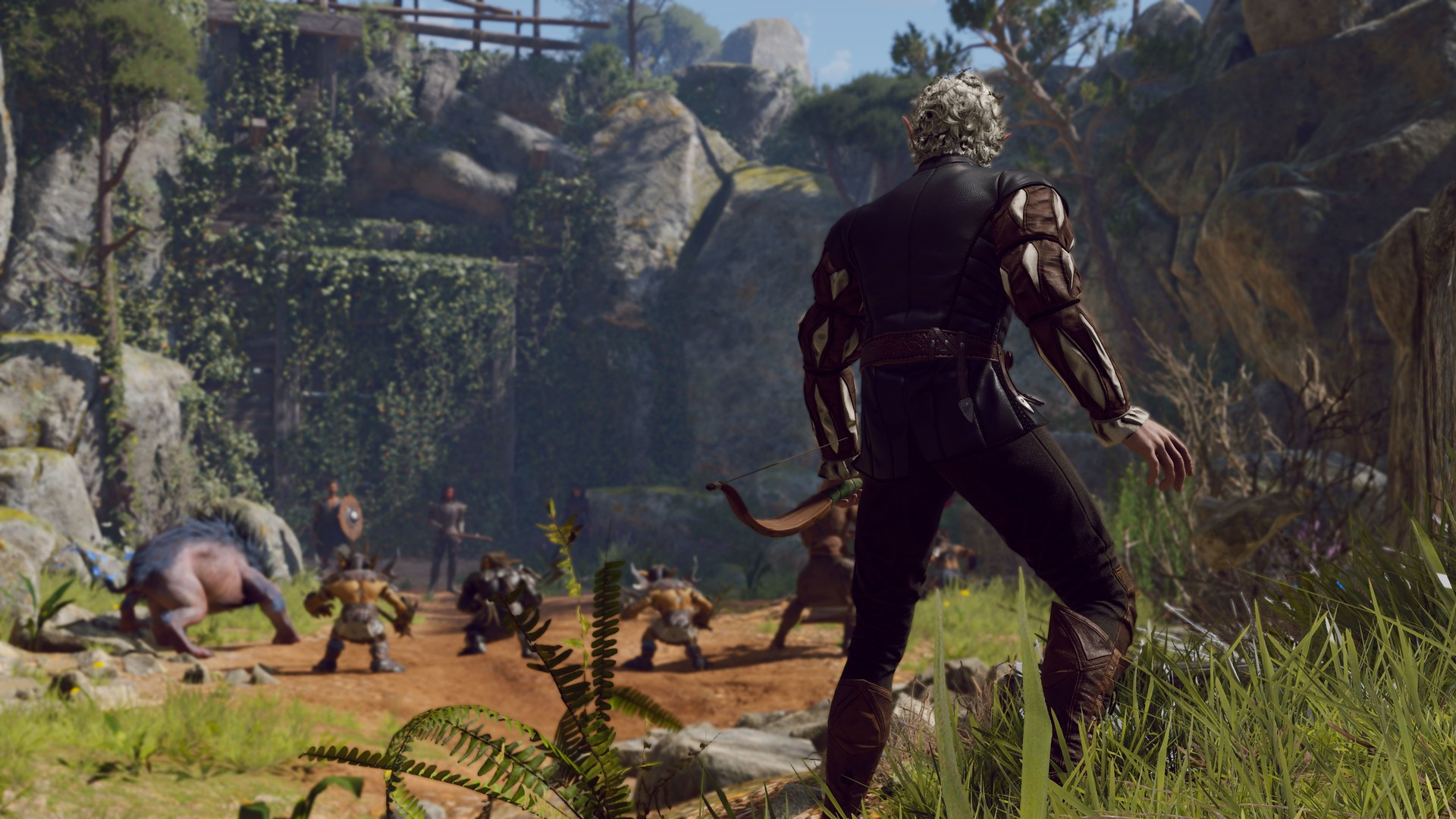 Baldurs Gate 3 gameplay trailer
