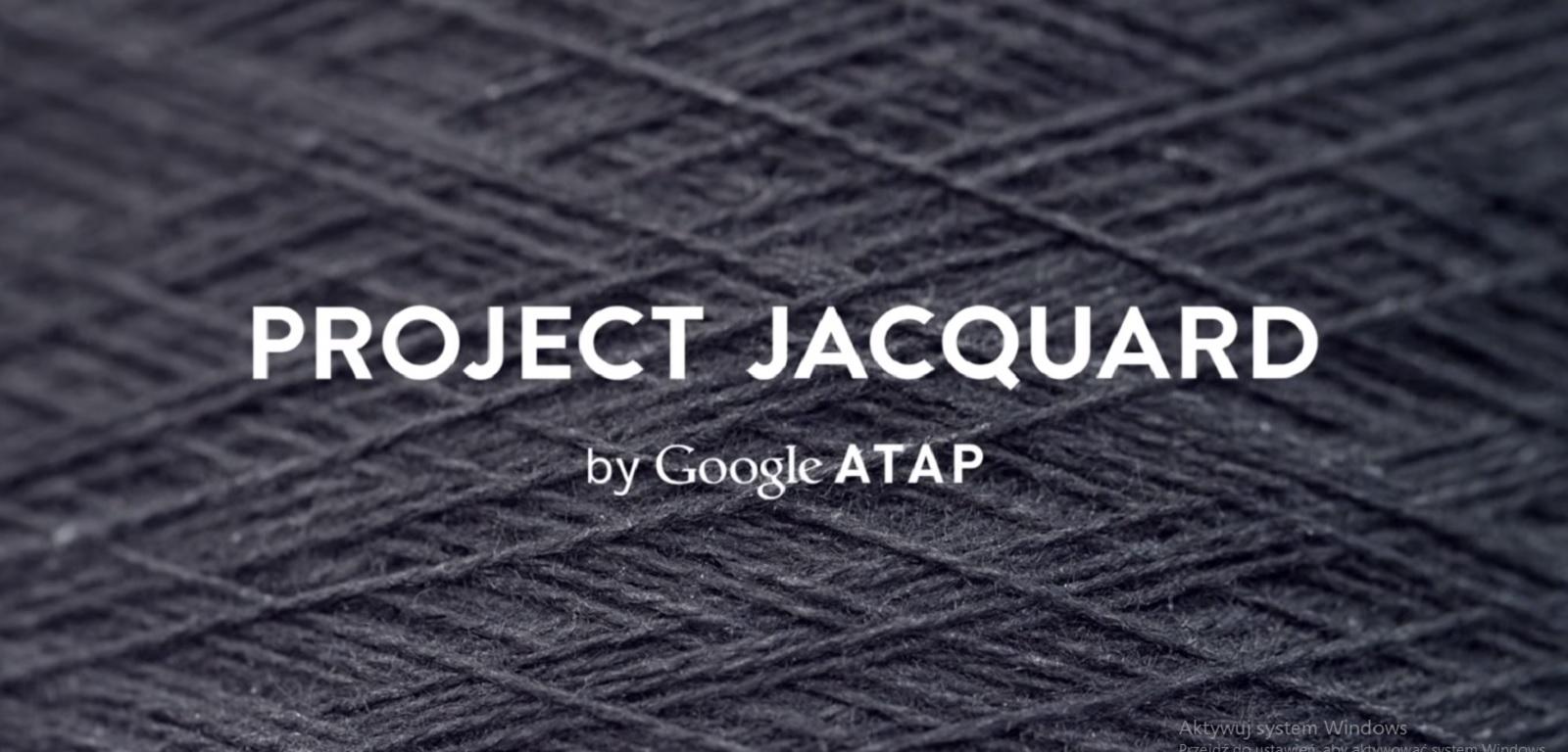 Project Jacquard by Google reklama