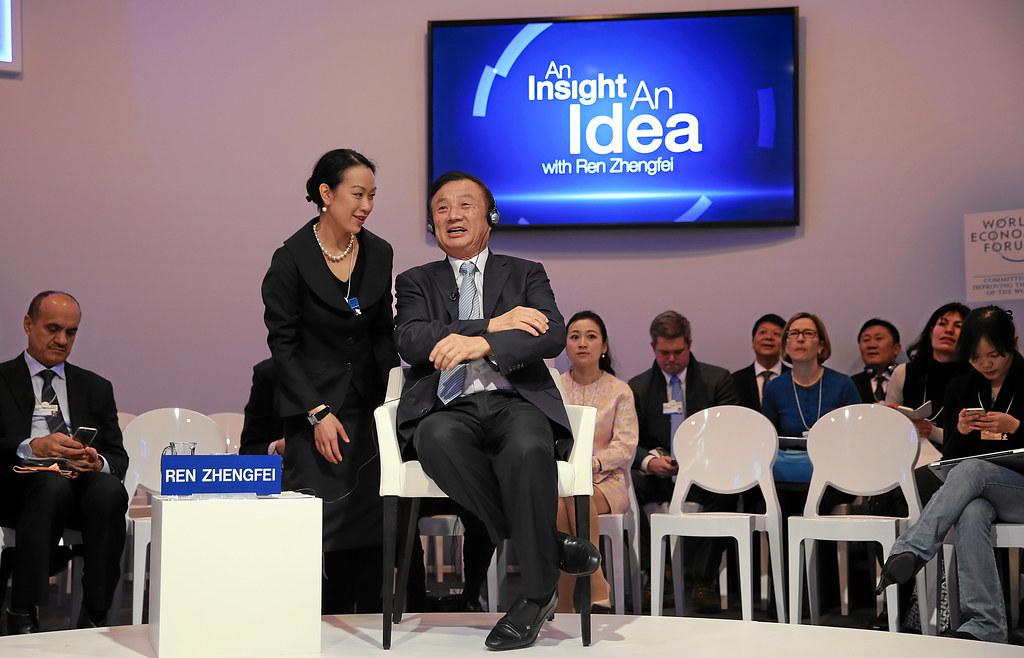 Ren Zhengfei, właściciel i założyciel firmy Huawei.