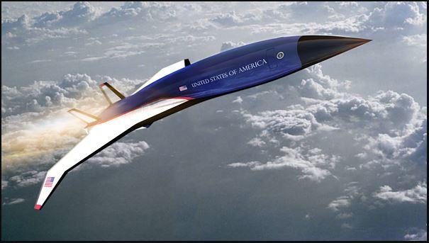Projekt supersamolotu Air Force One