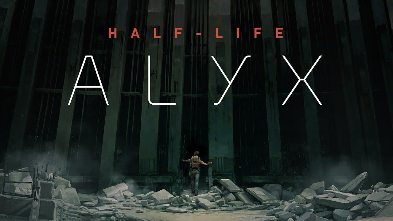 Half life alyx plakat