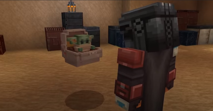 Fragment filmu Explore the Star Wars galaxy in Minecraft!
