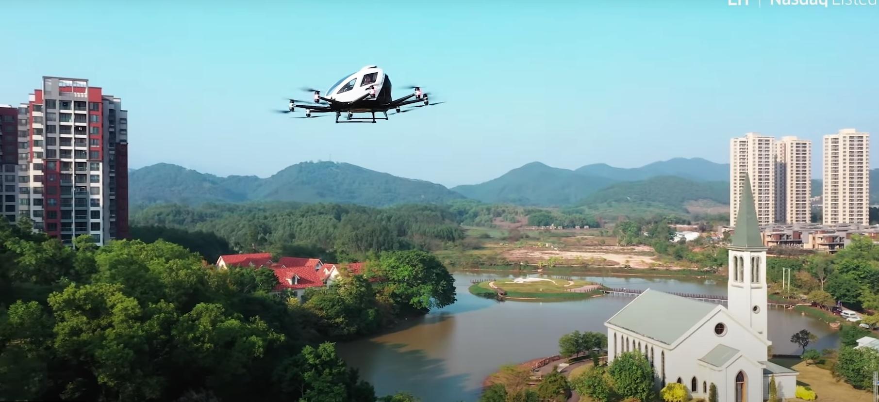 latająca taksówka EHang
