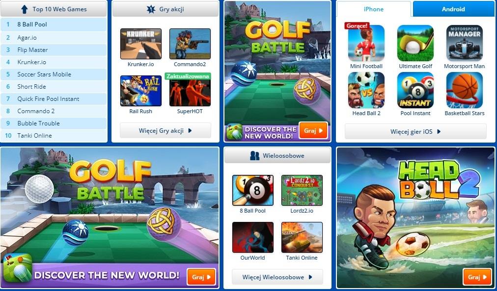 Miniclip.com strona główna