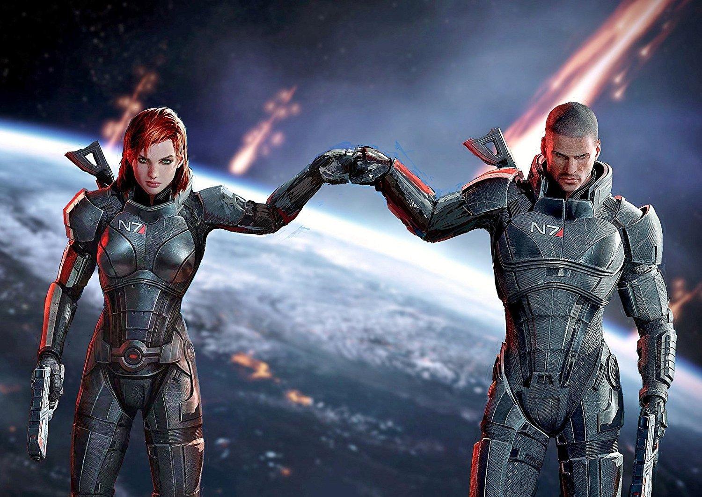 Mass Effect 3 komandor Shepard