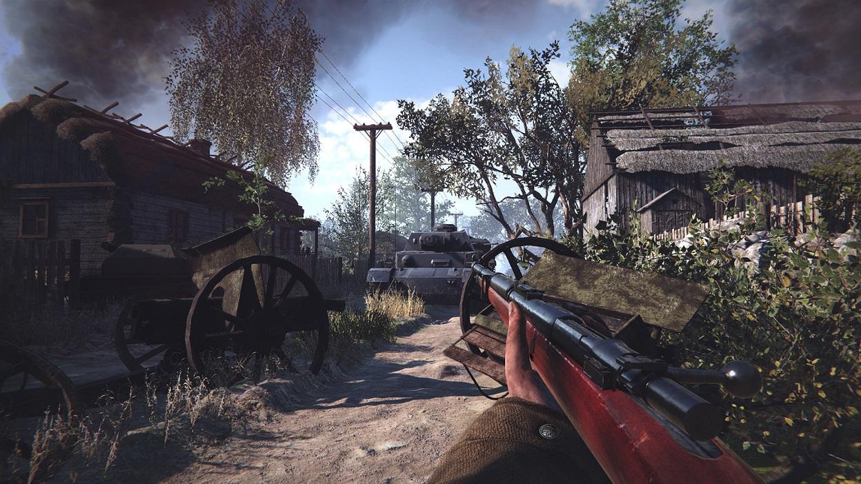 Screen z gry Land of War: The Beginning.