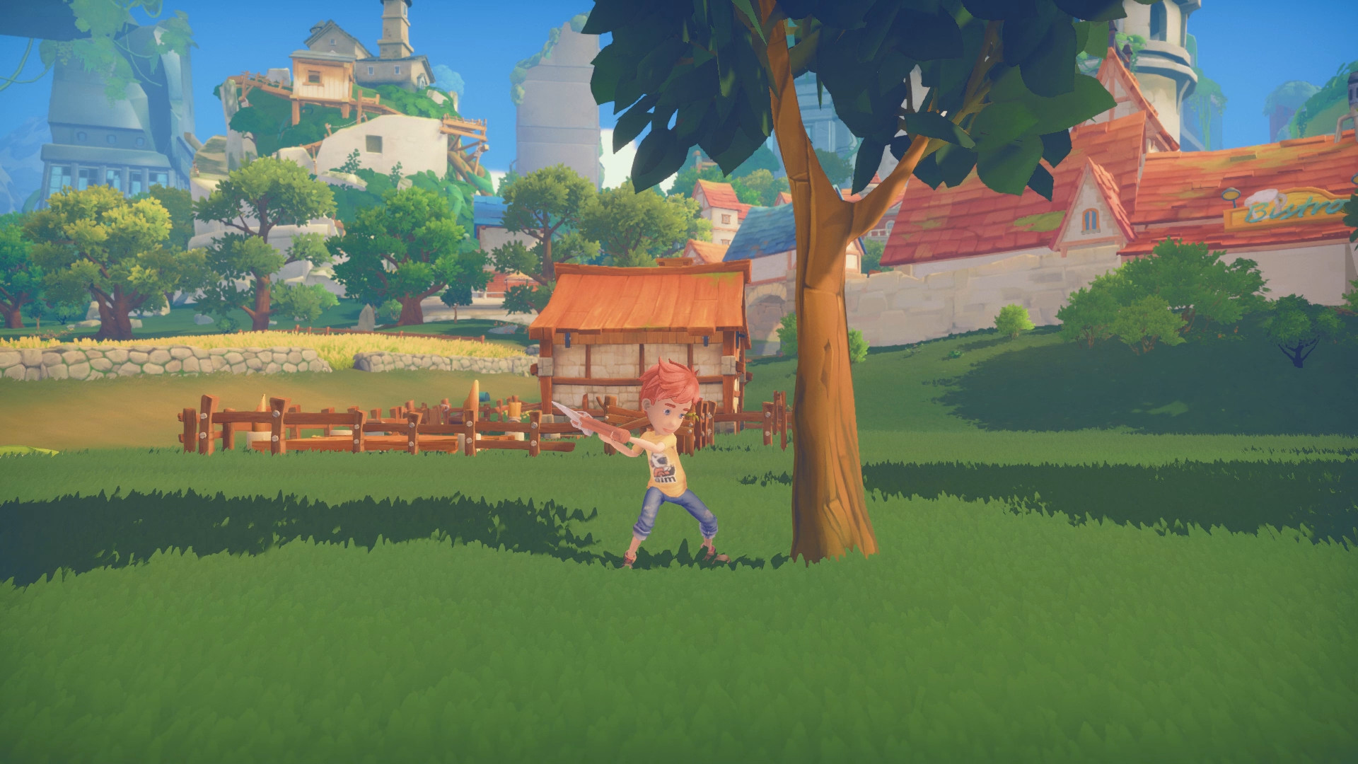 Screen z gry My Time at Portia
