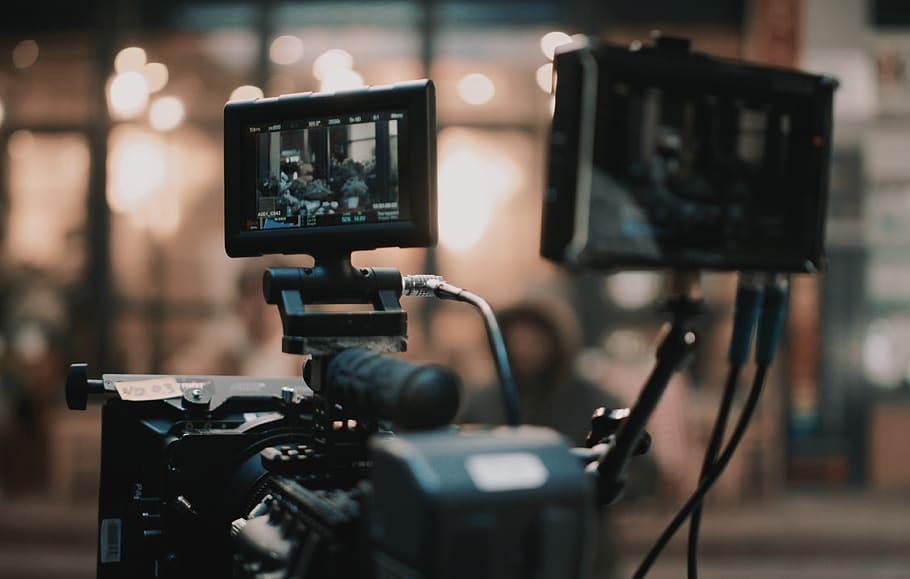 Kamera na planie zdjęciowym