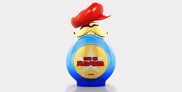 Zdjęcie butelki perfum na licencji Mario