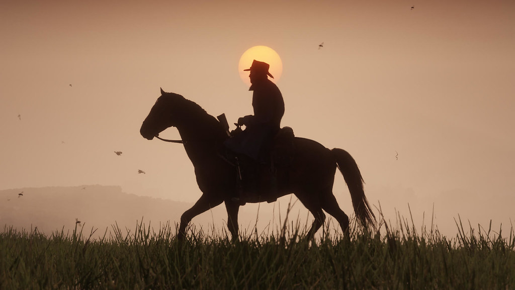Screen z gry Red Dead Redemtion 2.