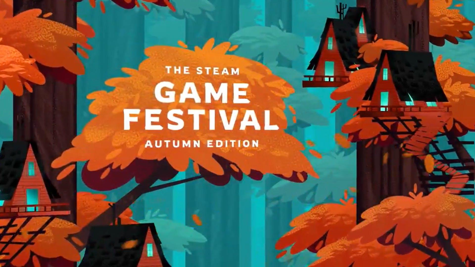 Jesienny Festiwal Gier na Steam - grafika promocyjna.