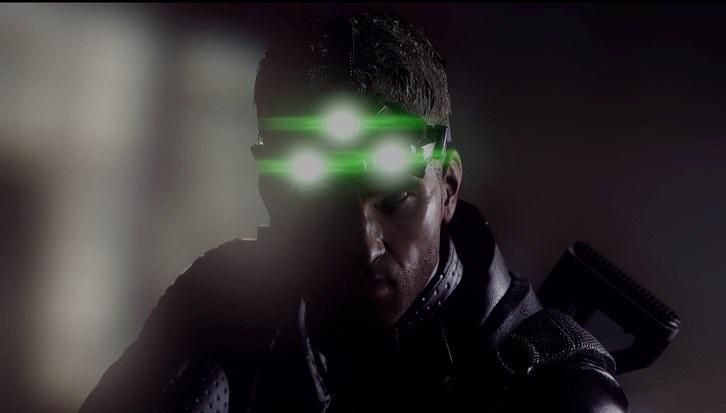 Sam Fisher, agent z gry Tom Clancy's Splinter Cell.
