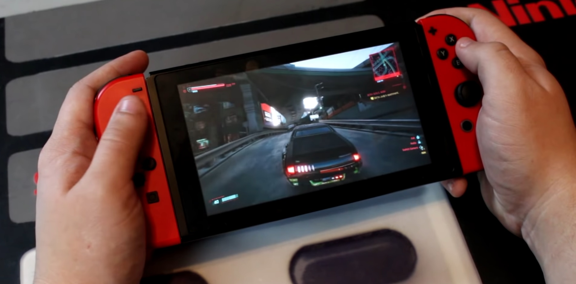 Cyberpunk 2077 na Nintendo Switch