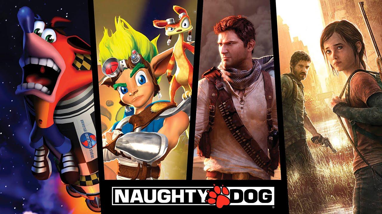 Gry Naughty Dog