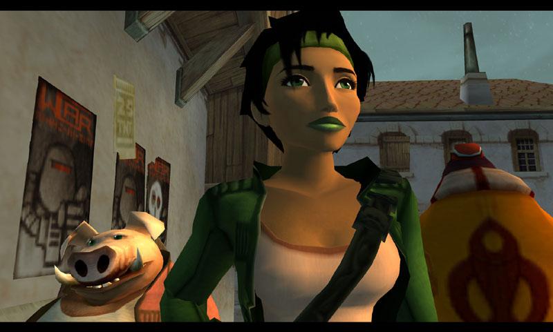 Kadr z gry Beyond Good & Evil