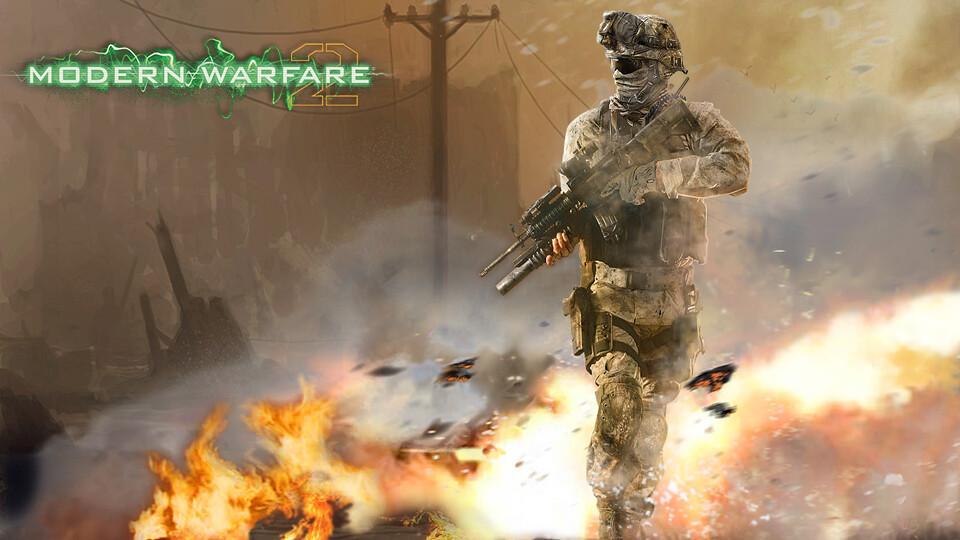Fan art z gry Call of Duty Modern Warfare 2