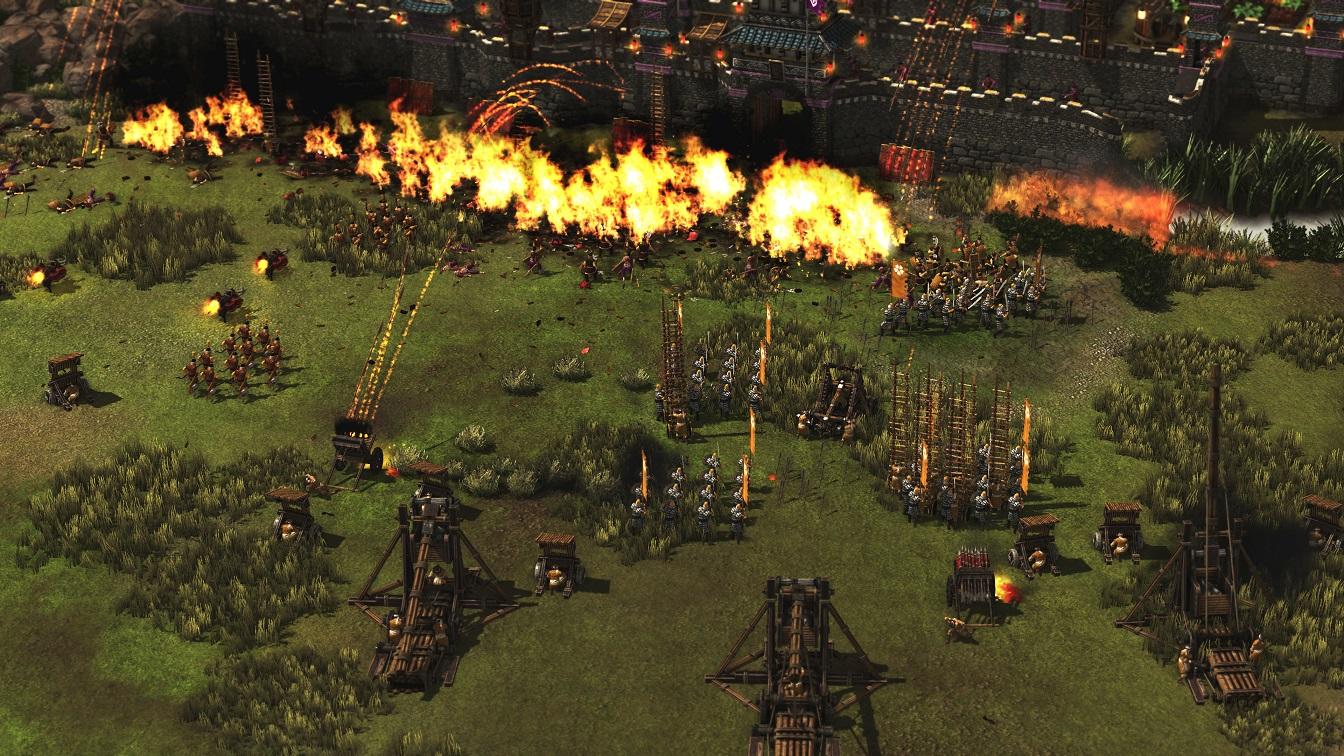 Screen z gry Twierdza: Władcy Wojny