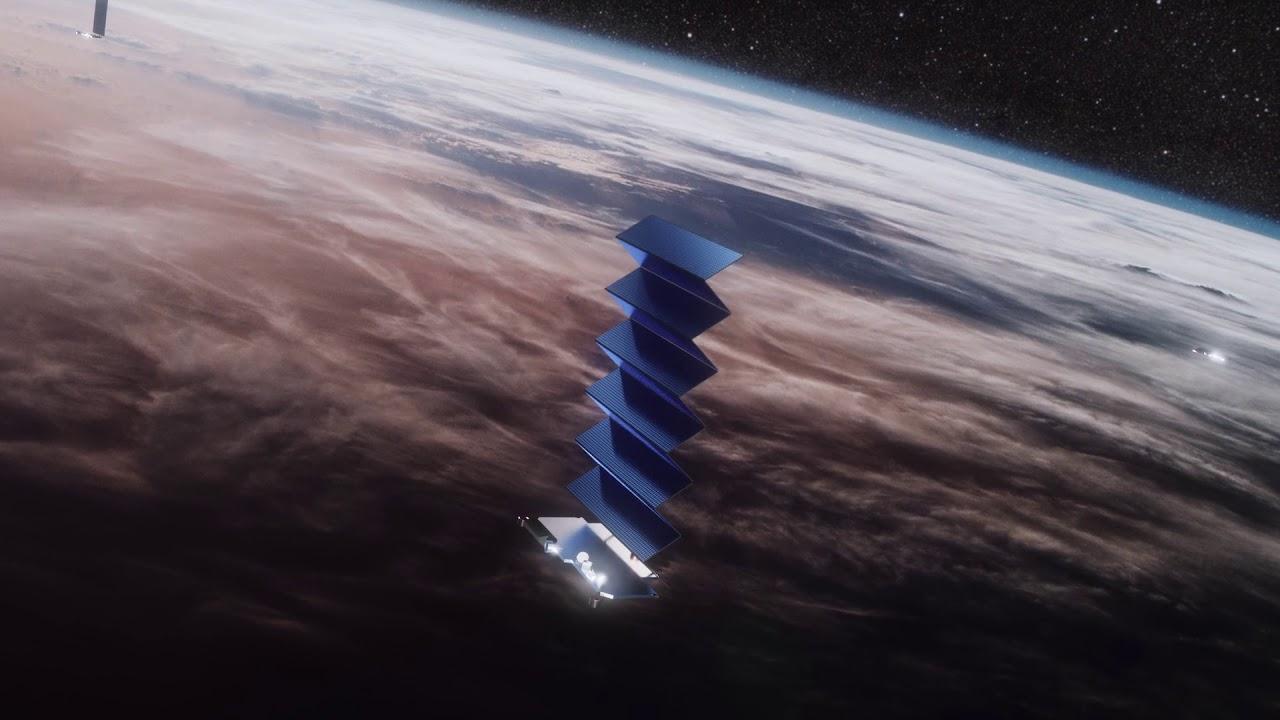 Urządzenie SpaceX na ziemskiej orbicie