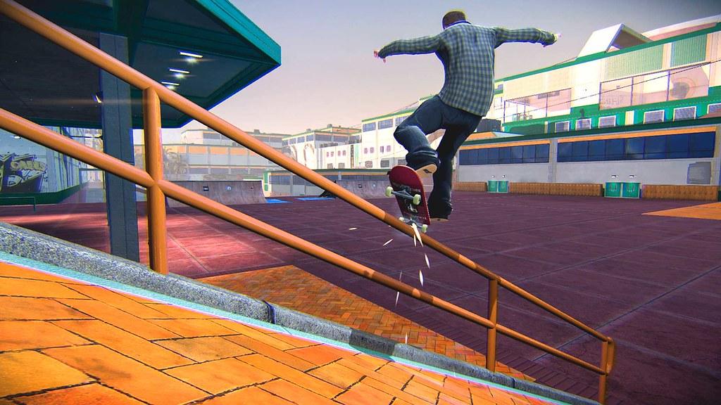 Screen z gry Tony Hawk's Pro Skater 5.
