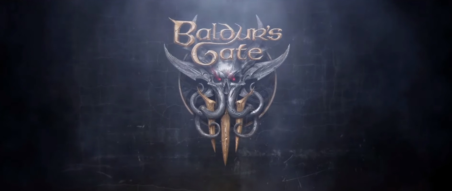 Baldurs Gate 3 logo gameplay