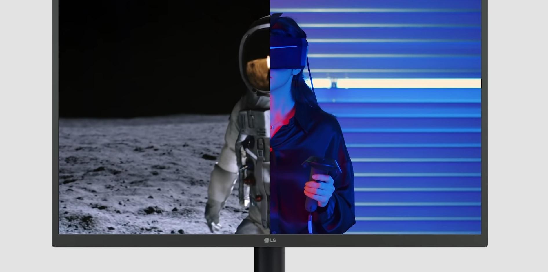 LG OLED monitor - prezentacja