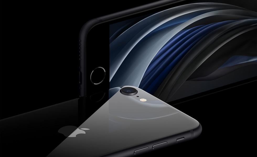 iPhone SE 2020 w różnych wariantach kolorystycznych