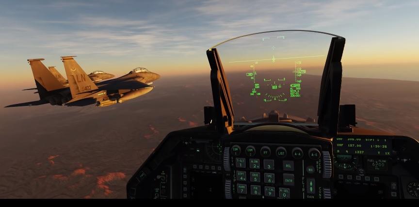 Kadr z gry Digital Combat Simulator