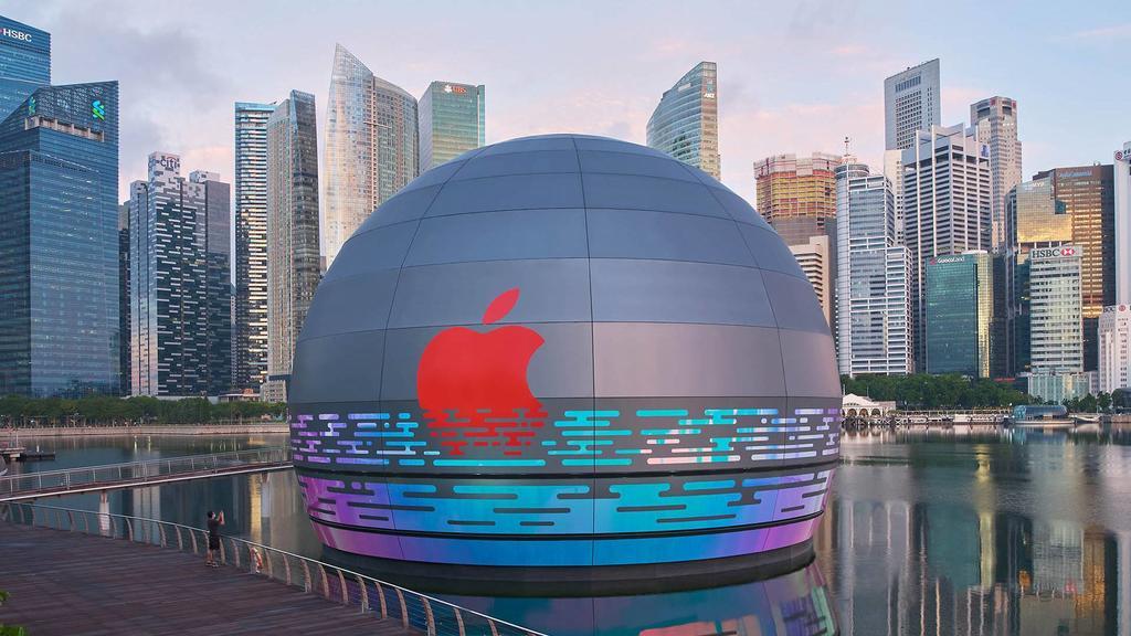 Apple Marina Bay Sands - nowy sklep Apple w Singapurze