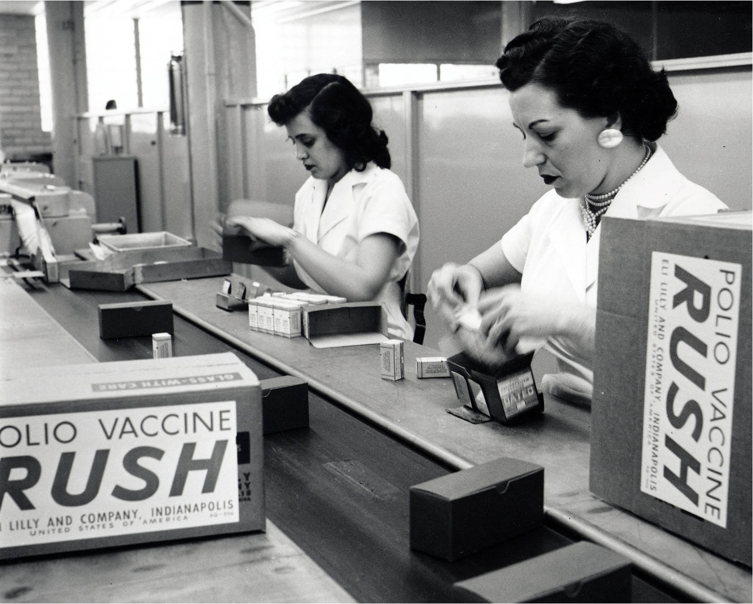 1955 Polio Vaccine Finishing