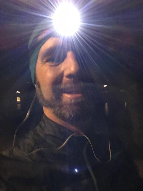 Stirnlampe Portrait