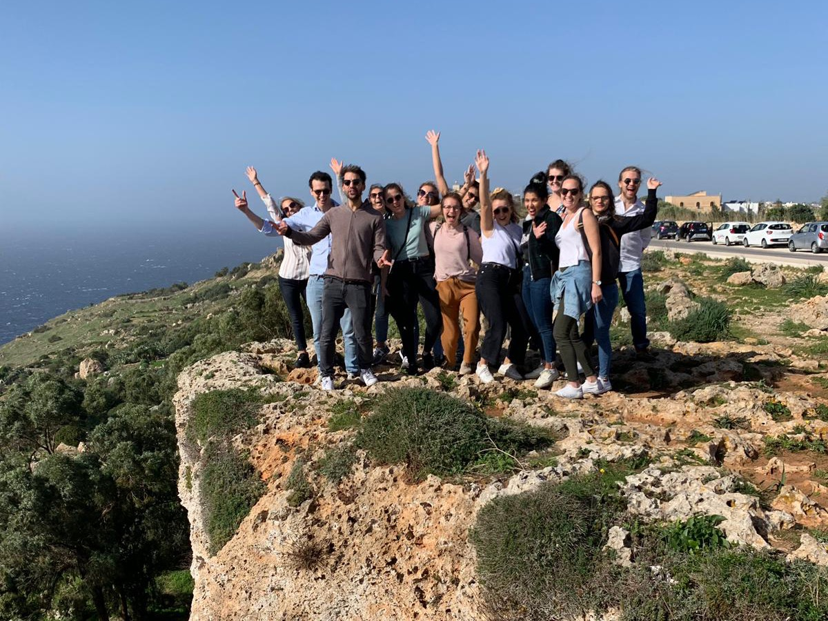 Unplanned-Werte-Malta-Team
